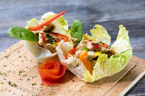 7- Chicken Lettuce Tacos