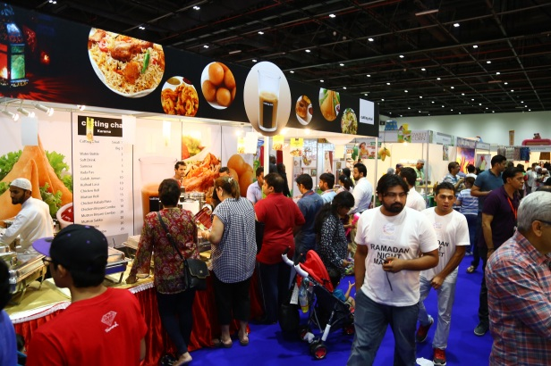 Food stalls at Ramadan Night Market