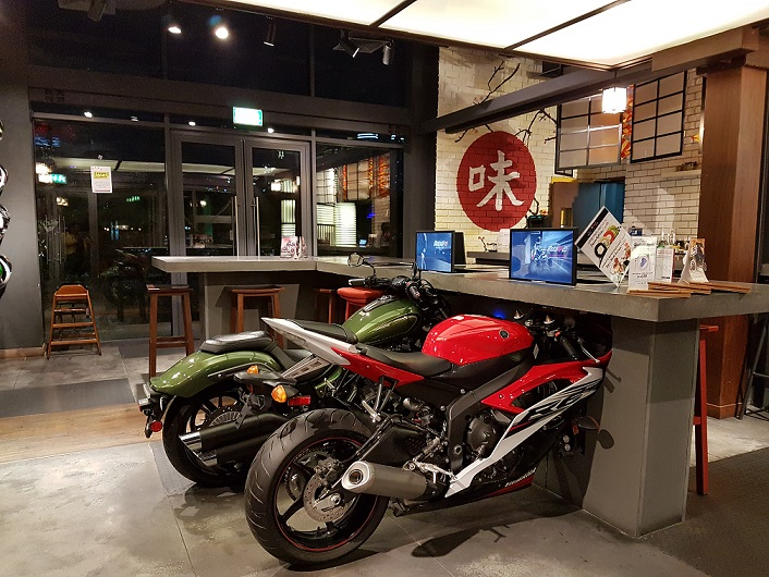 Coast Along The World S First Of Its Kind Japanese Cafe The Yamaha