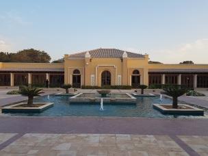 Saha Courtyard