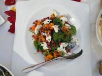 Squash Goat Salad