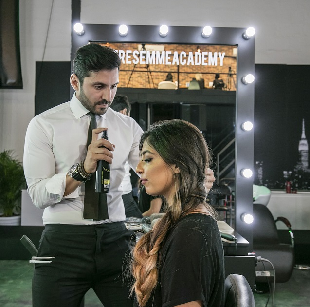 Georges El Mendelek Conducting Hair Masterclass